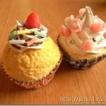 カップケーキ2種類が完成