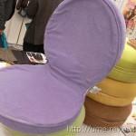 ベルーナのマカロン座椅子を注文♪