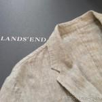 ほどよいカジュアル感でいろんなシーンで着られる ランズエンドのメンズ・リネン・ソフト・テーラード・ジャケット