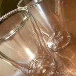 ダブルウォールグラスに感動 氷が溶けにくくロックや水割りが最後まで美味しい♪