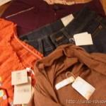 またブランデリで洋服を買った ボトムス2点トップス2点で3000円ちょい♪