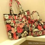 Vera Bradley (ヴェラ・ブラッドリー)のバッグを見せてもらった やっぱり可愛い~
