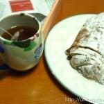 アンデルセンのシュトーレンを試食 チョコとへーゼルナッツの風味が濃厚