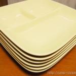 食後の洗い物が楽になってテーブルも広々! ベルメゾンのランチプレートは使いやすい