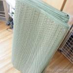 家具はそのままで部屋全体に敷ける「フリーカットい草カーペット」が便利